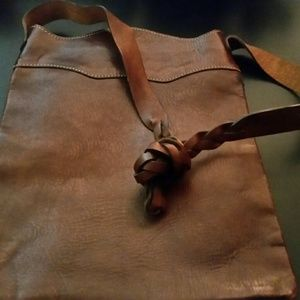 Gap vintage brown leather bag