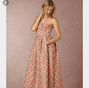 Tracy Reese Dresses & Skirts - Full length Rose Brocade Gown - Bhldn