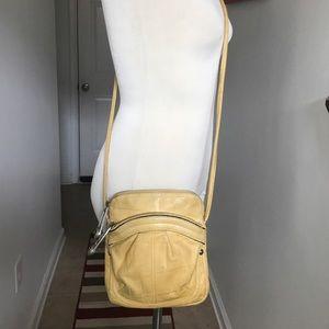 b. makowsky Handbags - B. Makowsky small light yellow leather Crossbody😘