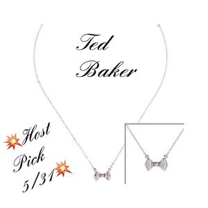 Ted Baker London Jewelry - NWT Ted Baker Balie Baby Bow necklace