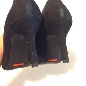 Rockport Shoes - Rockport Total Motion Black Suede Pump size 5.5