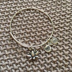 Alex & Ani Jewelry - Alex and Ani Lotus Bracelet