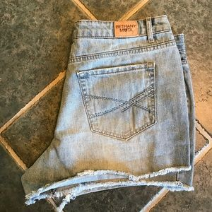Aeropostale Pants - Bethany Mota distressed jean shorts