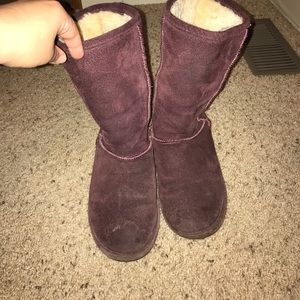 BearPaw Shoes - Purple Bearpaw boots