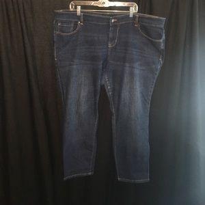 Old Navy Denim - Old Navy dark denim skinny jeans