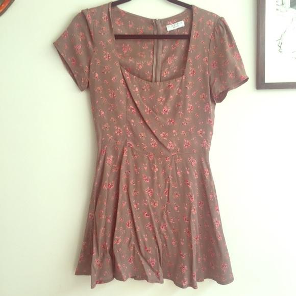 016e87182a21 Flynn Skye Dresses & Skirts - Flynn SKye Maiden mini Dress in Sweet Pea  print 🌺