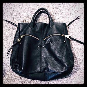 Aimee Kestenberg Handbags - Aimee Kestenberg Black leather bag