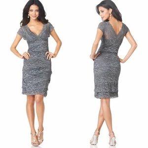 Persona by Marina Rinaldi Dresses & Skirts - Marina Scalloped Lace Formal Dress