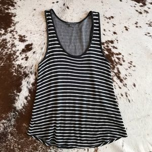 Vince Tops - Vince racerback striped tank top S