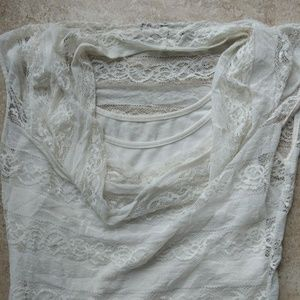 864a2f3d879f9d Tops   5 Vinted 4 Ship Lace Tank And Shirt   Poshmark