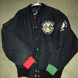 65cbe74cf43d Vintage Cross Colours jacket spike lee 8 ball