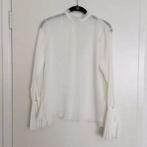 H&M Renaissance Top White *NEW*
