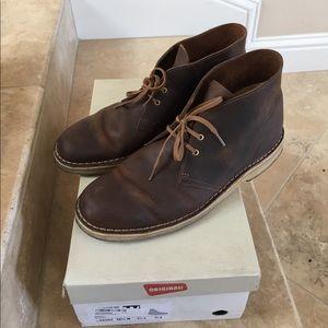 Clarks Other - Men's Clarks Beeswax Desert Boots Size 10.5