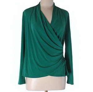 Sunny Leigh Tops - Wrap blouse