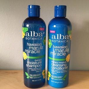 Alba Other - Alba Hawaiian Marula Miracle Shampoo & Conditioner