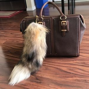 Opening Ceremony Accessories - Authentic fox tail purse charm