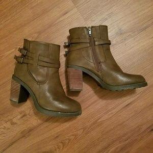 Diba Shoes - Diba leather booties