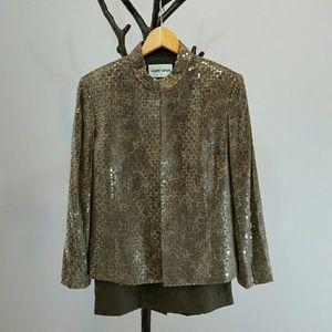 Albert Nipon Dresses & Skirts - Albert Nipon 3 Piece Cocktail Skirt Suit Sz 10