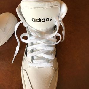 Adidas Shoes - FLASH SALE!!!!BRAND NEW ADIDAS LEATHER HI-TOPS!!!!
