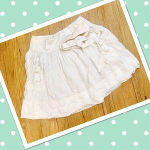 Sisley Dresses & Skirts - White skirt