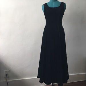 Laura Ashley Dresses & Skirts - Laura Ashley black velvet gown