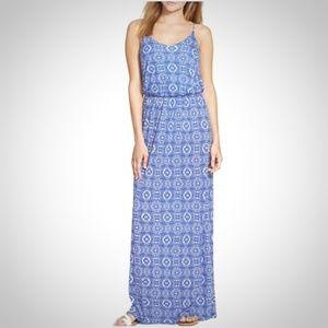Lush Dresses & Skirts - Lush Blue Blouson Maxi