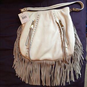 NEW Aimee Kestenberg leather fringe handbag