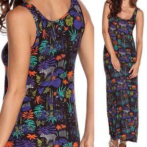 OndadeMar Dresses & Skirts - OndadeMar Jungle Maxi Beach Dress