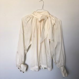 Banana Republic Tops - Victorian Style Blouse with necktie