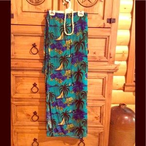Dresses & Skirts - Tropical Wraparound Skirt
