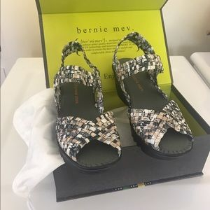 bernie mev. Shoes - Bernie Mev wedge sandal-never worn