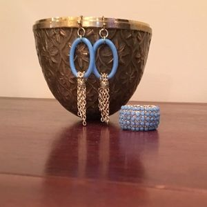 Towne & Reese Jewelry - NWOT. Towne & Reese Earring and Ring Bundle