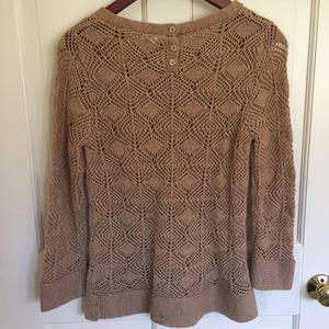J. Crew Sweaters - J Crew wool crochet sweater