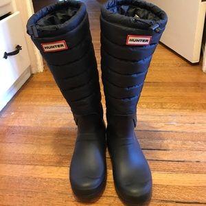 Hunter Shoes - Hunter black boots