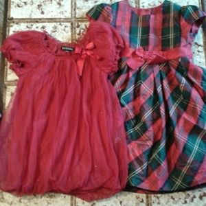 George Other - 2 fancy 4T dresses