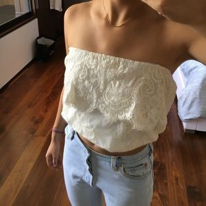Jen's Pirate Booty Tops - Jen's Pirate Booty Lace Tube Top