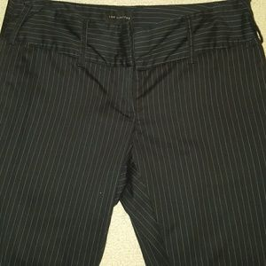 The Limited Pants - The Limited  black pin stripe  pants size  4
