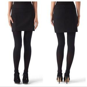 WHBM Ponte Mini Skirt