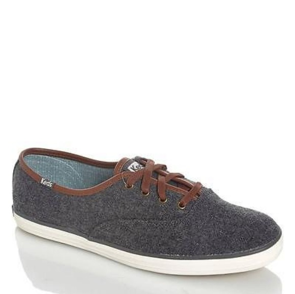 f8a472f77be Keds Shoes - 💛Keds Champion Wool Women Round Toe Canvas Gray