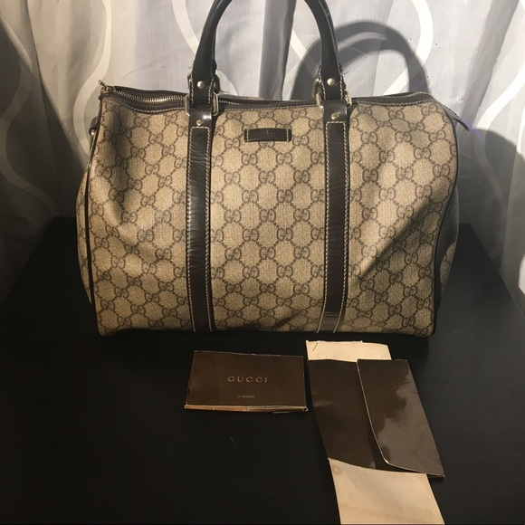 381bde94f1797b Gucci Bags | Gg Monogram Medium Joy Boston Bag | Poshmark