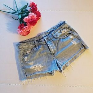 American Eagle Outfitters Pants - American Eagle Distressed Jean Shorts - 8
