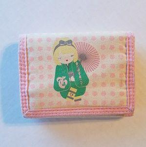 Harajuku Lovers Handbags - Harajuku Lovers Geisha Girl Cherry Blossom Wallet