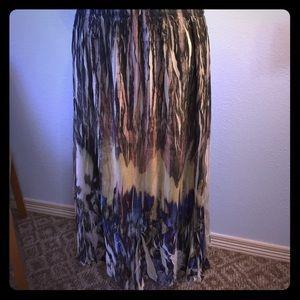 Reba Dresses & Skirts - Beautiful Reba printed 2-layer skirt 2X plus size