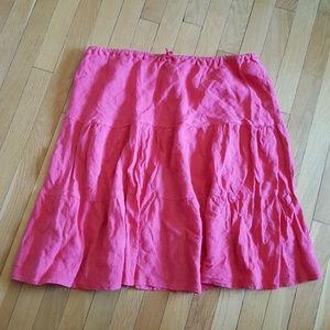 Allen Allen Dresses & Skirts - Plus Size Nordstrom Allen Allen Linen Skirt