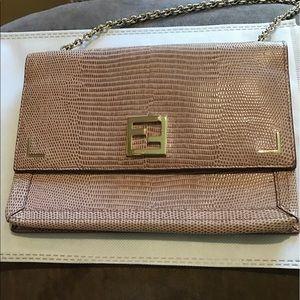 Fendi Handbags - Lizard Fendi Wallet on Chain