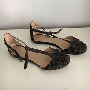 Zara Shoes - Zara camouflage flats. Sz 38