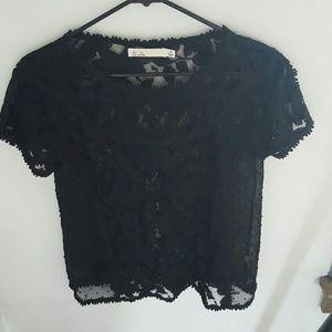 Hi-Line Tops - Sheer lace top