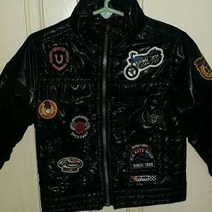 Osh Kosh Other - Trendy Biker jacket for boy