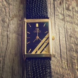 Gucci Accessories - Vintage Gucci Leather Watch