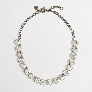 J.Crew Factory • crystal necklace